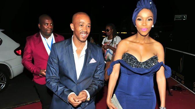 """Beautiful Nhlanhla Nciza """"Mafikizolo"""" wearing CINNEL."""