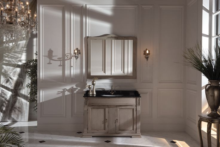 Topex Armadi Art Nuovo Beige Bathroom Vanity With Granite Surface From Our Classic Collection!