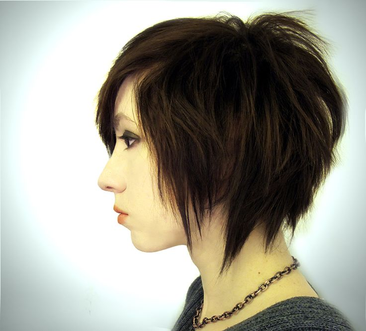 crop hair styles 39 best edgy bobs images on hair cut 9018