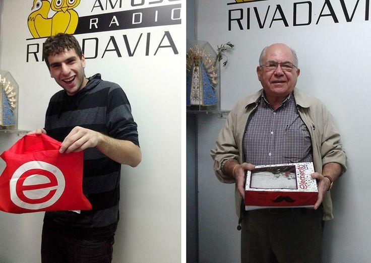 Elemento + Radio Rivadavia AM 630   Algunos de los ganadores de los sorteos en radio Rivadavia durante el programa El Poder de Querer, con Santiago Torres. lunes a viernes, entre las 12:30 a 13:30