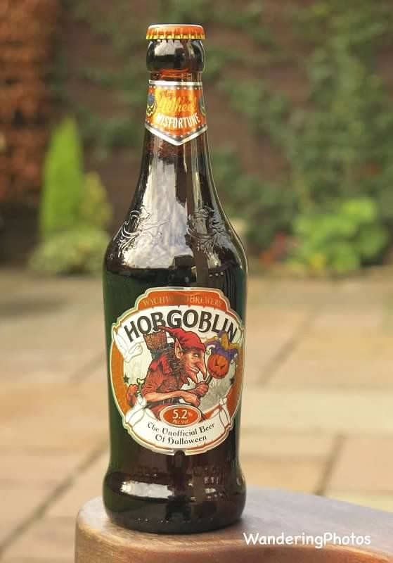 "Wandering Photos - Hobgoblin Beer - (5.2%) - ""The Unofficial Beer of Halloween"" - Wychwood Brewery Eagle Maltings Witney Oxfordshire England"