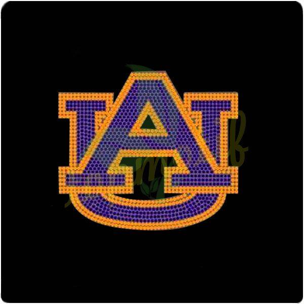 ua team logo rhinestone designs for tee sports team