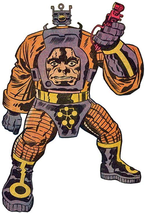 Arnim Zola - Kirby's Mengle - the insane Nazi geneticist, hiding in South America!