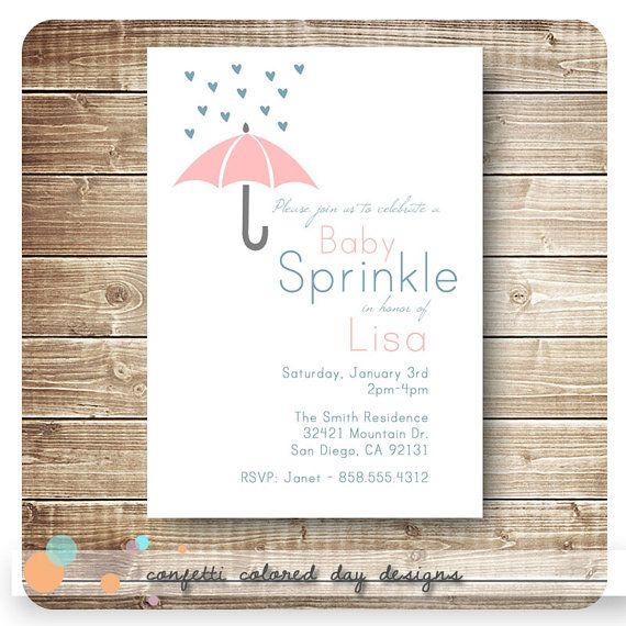 baby shower baby sprinkle invitation printable diy via etsy