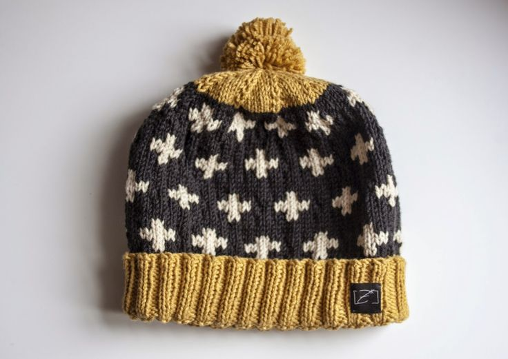 diy pompom beanie.  I love this but would want the trim in a more flattering color for my olive skin.