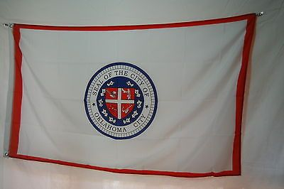 City of Oklahoma FLAG Banner 3x5