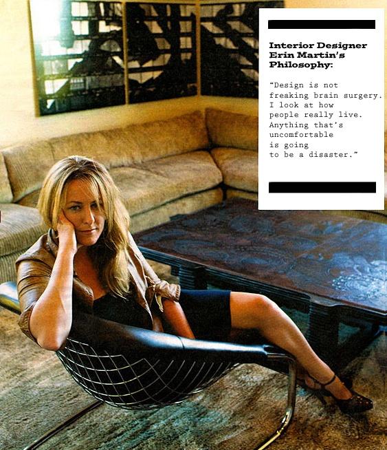 Interior Designer Erin Martin's design philosophy.