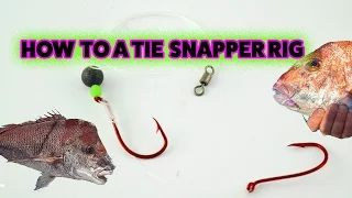 Snapper Fishing Tackle - YouTube