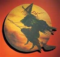 Wooden witch flying over a golden moon.......: Moon Signs, Vintage Halloween, Halloween Decor, Wooden Witch, Fall Decor, Wooden Wall Decor, Witch Flying, Golden Moon, Happy Halloween