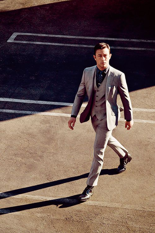 joseph gorden levitt- brtish people in suits= nothing more badass