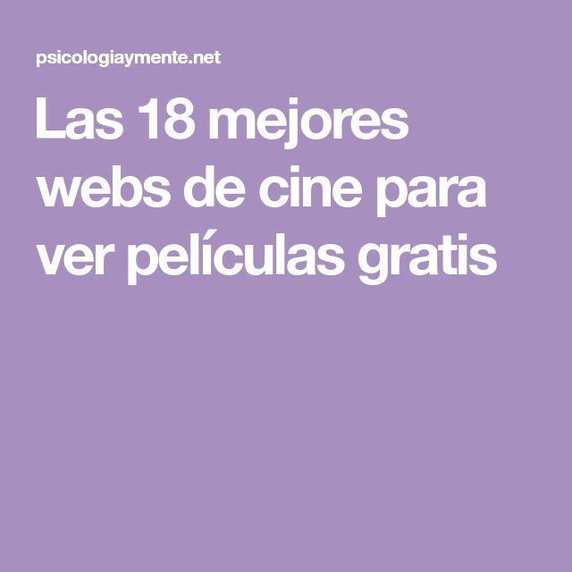 Las 18 mejores webs de cine para ver películas gratis