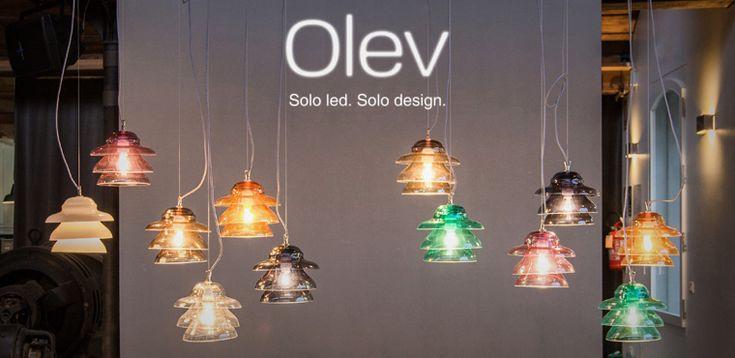 Новый цветного выдувного стекла светильники, сделанные в Италии