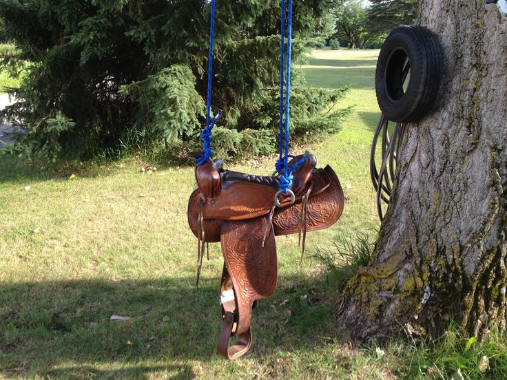 OUR  SADDLE SWING!!