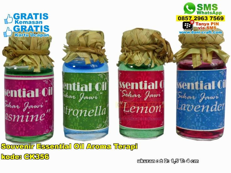 Souvenir Essential Oil Aroma Terapi WA/ SMS Center: 0857.2963.7569 Telp/SMS/WA: 0896.296.77.660 (Tri) 0819.0403.4240 (XL) 0813.2660.1110 (Telkomsel) 0857 4384 2114 (Indosat) PIN BBM: 59E 8C2 B6. #aromaterapi #aromaterapiruangan #aromaterapibakar #aromaterapimurah #aromaterapililin #souveniraromaterapi #aromaterapiyogyakarta #aromaterapimurah #aromaterapimurahyogyakarta #aromaterapitermurahjakarta #jualaromaterapi #jualsouveniraromaterapi  #SouvenirEssential #PabrikEssential…