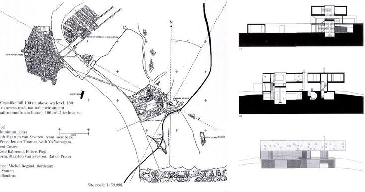 FASE 1 Documentación de plantas, secciones, alzados y material para el análisis de la vivienda.    plano de situación      las tres planta...