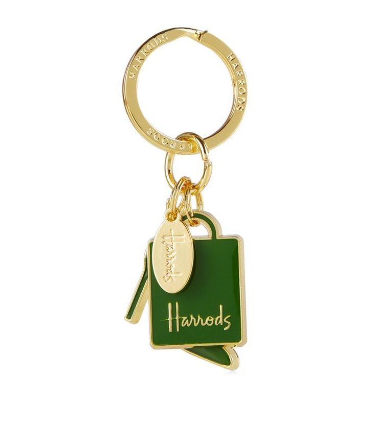 Harrods Shoe and Bag Keyring | Harrods.com