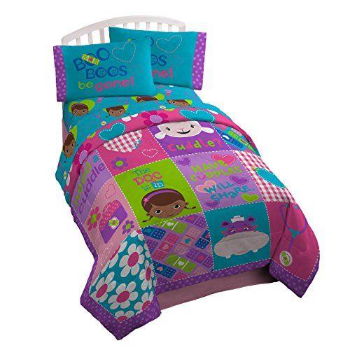 Disney Doc McStuffins Microfiber Reversible Twin Comforter ...