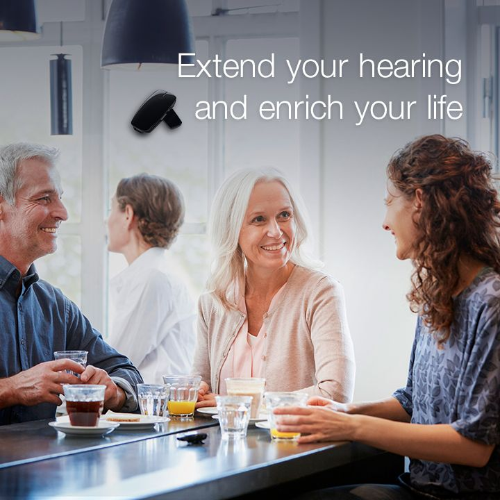 Focus on the sound you want to hear, even in a noisy place with the ReSound Micro Mic. Extend your hearing by up to 25 metres in a clear line of sight.  Visit resound.com/en-AU/hearing-aids/accessories