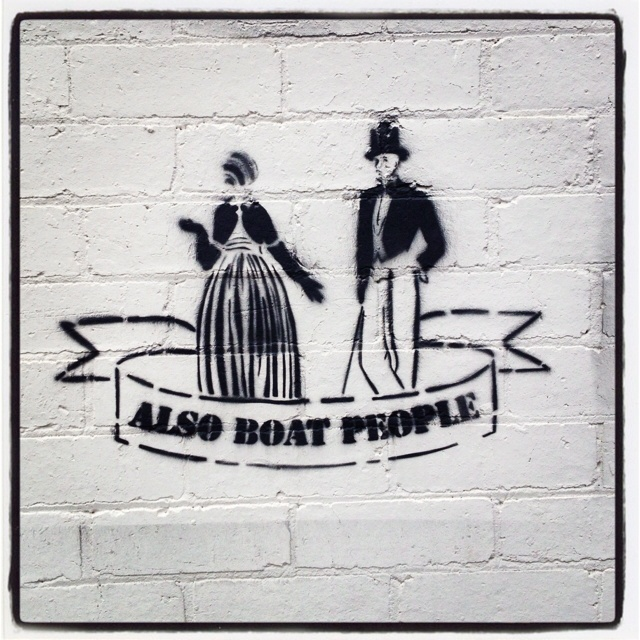 Saw this on the outside of one of my local shops in St Kilda East. I love it!