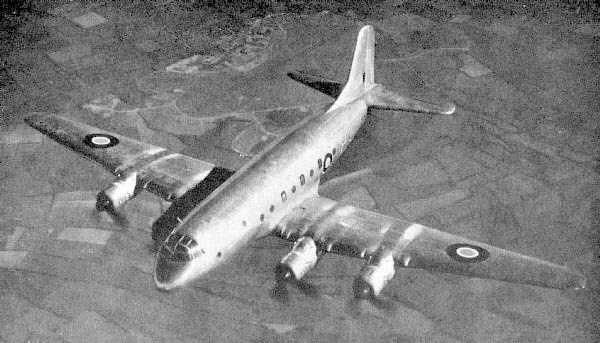 1946 - Royal Air Force (RAF) Handley Page Hastings (Four-Engined Piston Transport)