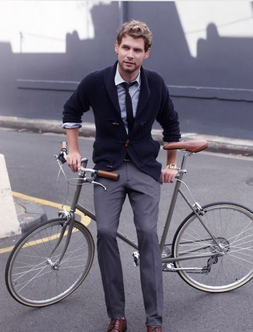 Men's Fall cycling fashion