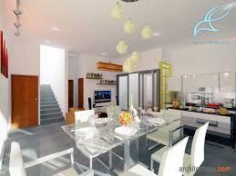 Hasil gambar untuk ruang keluarga menyatu dengan ruang makan minimalis