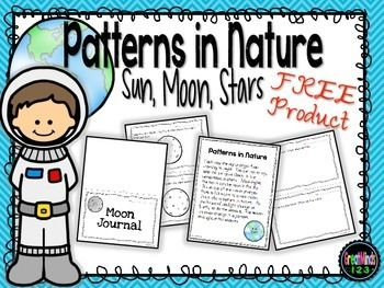 This is a free sample from our 1st-3rd grade Patterns in Nature unit.  Included is a student informational sheet about patterns in nature and a moon journal with 2 different options.  It can be used in class or as part of homework.  The FULL unit includes over 40 pages with student texts, follow-up activities and more.
