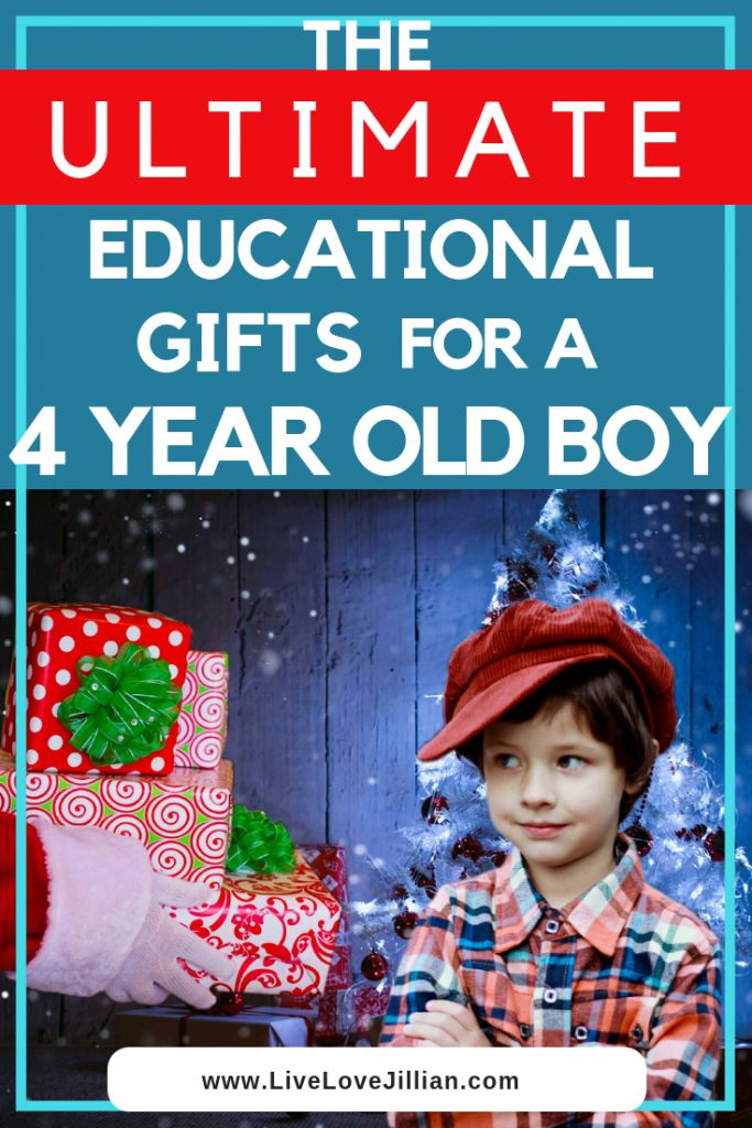 The Ultimate List of Educational Gifts for 4 Year Old Boy ...
