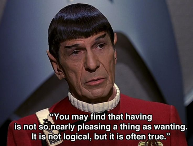 12 thoughtprovoking Spock quotes to live your life by
