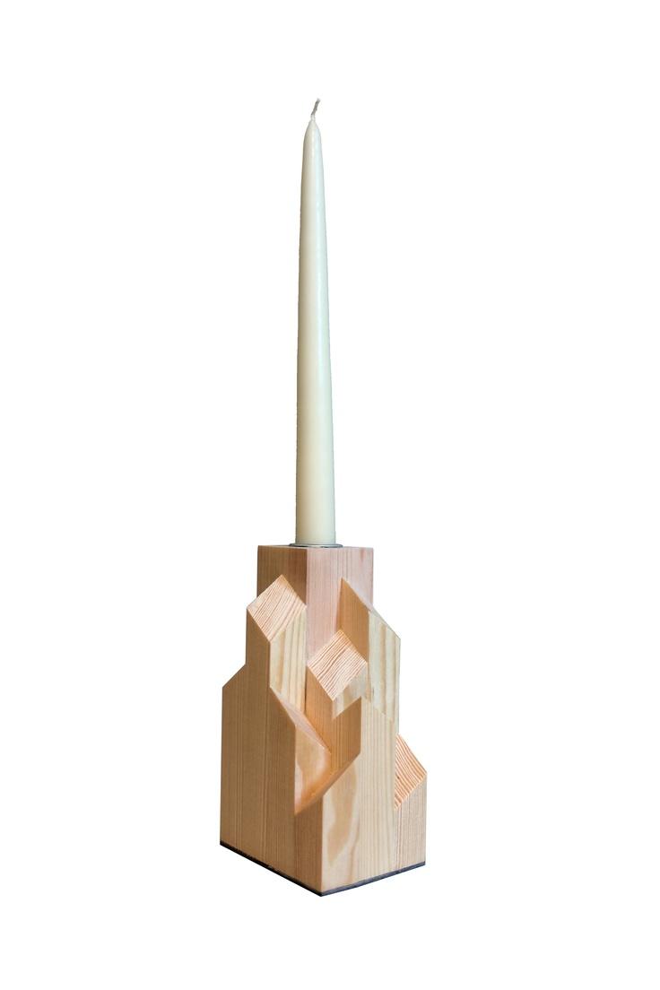 Reflect candlestick - by Pernille Rask  www.designkollektivet.dk