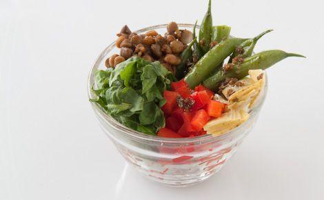 #Epicure Layered Lentil and Vegetable Salad
