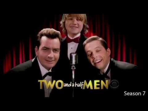 All Two and a Half Men intros - seasons 1 to 9, including alternate, short and…