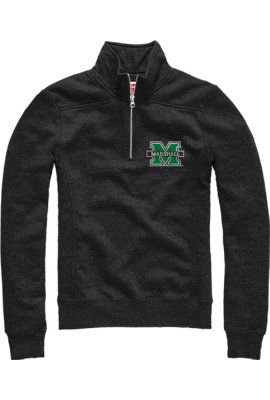 Product: Marshall University Thundering Herd Women's 1/4 Zip Fleece Pullover