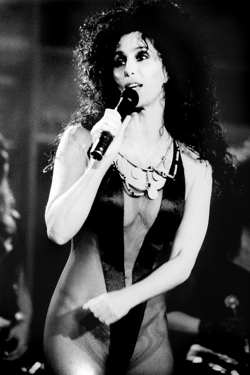 """CHER, """"Turn Back Time"""", 1980's."""