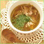 食欲をそそる香り♪かな姐さんのもやしと豚肉のタイ風スープ