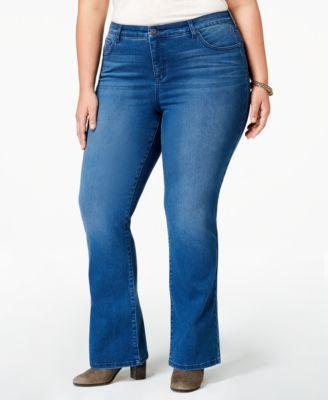 Style&Co. Style & Co Plus & Petite Plus Size Tummy-Control Bootcut Jeans 2