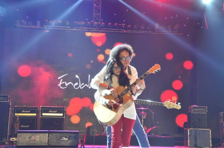 Endah n Rhesa at #LeagueSoundsOfJakartaFair stage, JIEXPO