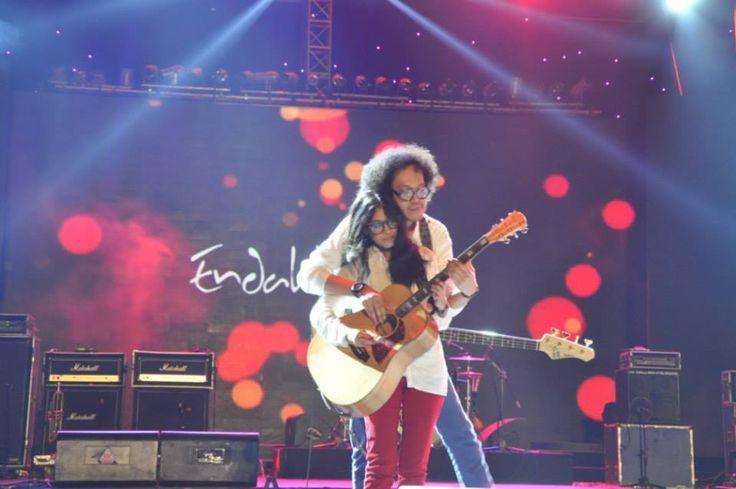 Endah n Rhesa at #LeagueSoundsOfJakartaFair stage, JIEXPO