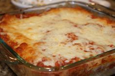 Rigatoni Bake ... I made this for a Church Potluck tonight ...It was a HIT !!  ;-)