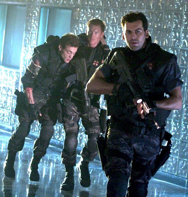 Zack Ward In Resident Evil 2 Resident Evil Movie Resident Evil