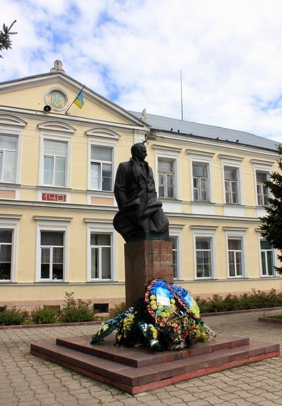 Stepan Bandera Monument, Stryi town, Lviv region, Ukraine