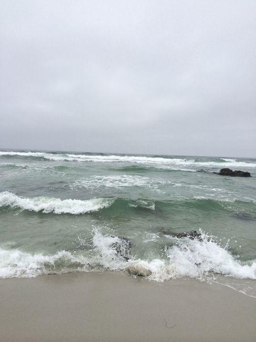 the mighty Pacific, Pebble Beach, California