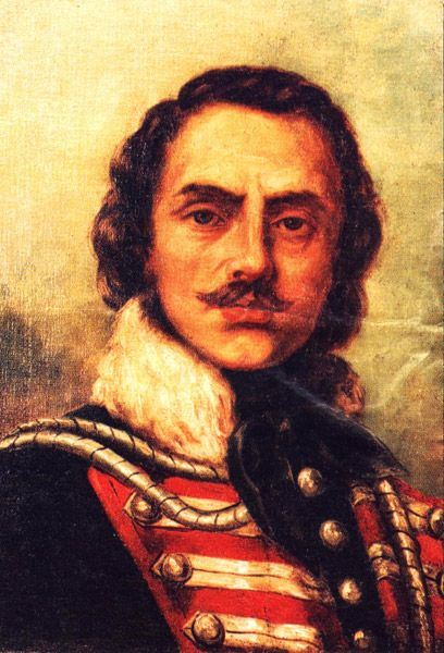 Casimir Pulaski, a Polish count and Revolutionary War hero.