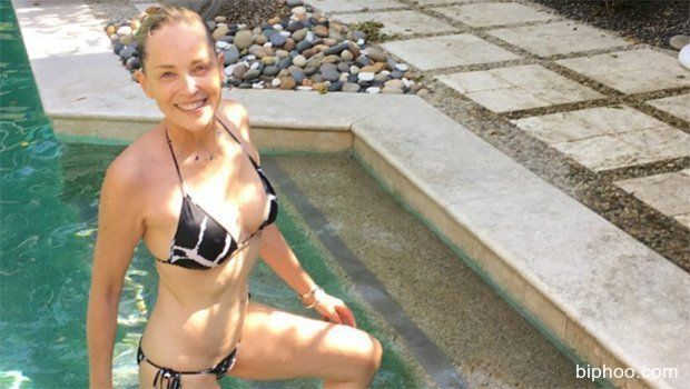 Sharon Stone Proves In String Bikini That Your Body Can Be Perfect At 59 — Pic