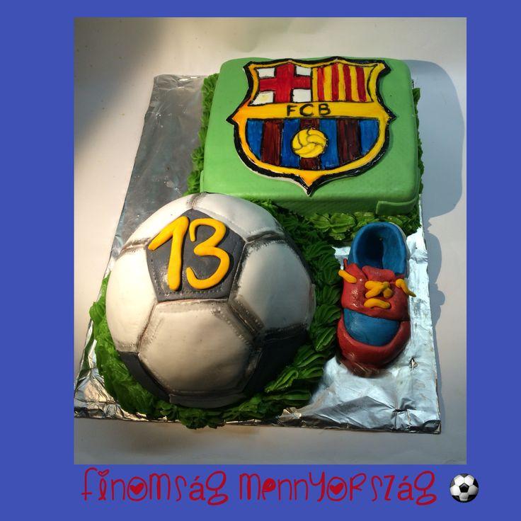 Csokihabos Barcelona torta