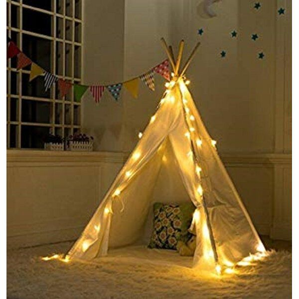 Triangular Play Tent With Carrying Bag Teepee Kids Kids Teepee Tent Play Teepee