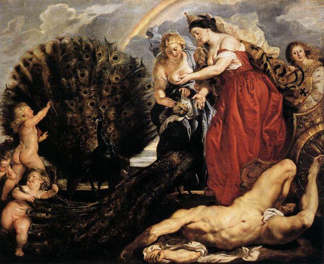 Hρα και ο Άργος. (1611
