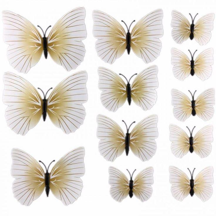 Древние римляне считали, что бабочки - это красивые цветы, которые сорвал ветер.  Яркие и невероятно красивые, они вызывают восхищение. Декор стен бабочками внесёт каскад красок в интерьер и оживит вашу комнату.