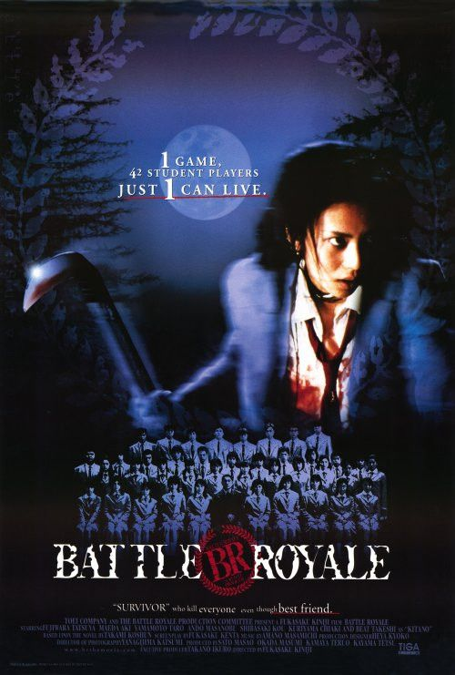 Battle Royale 27x40 Movie Poster (2000)