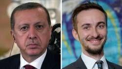 De Turkse president Erdogan voelt zich beledigd door een satirisch gedicht van Jan Böhmermann.